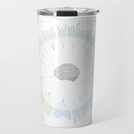 The Cognitive Bias Shower Curtain! Travel Mug