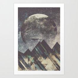 Sweet dreams mountain Art Print