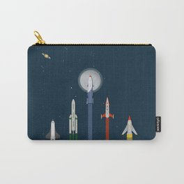 The Race To Mars Carry-All Pouch