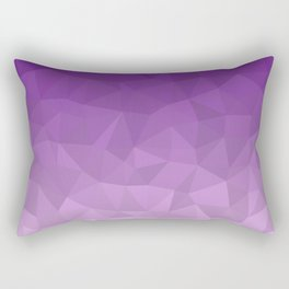 Purple Ombre - Flipped Rectangular Pillow