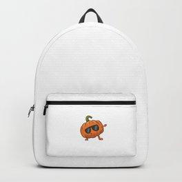 Funny Lazy Halloween Pumpkin Scary Halloween Dabbing Pumpkin Backpack