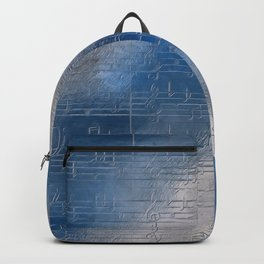 Silver music Backpack