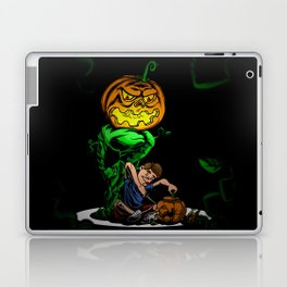 Pumpkin Head Laptop & iPad Skin