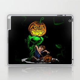 Pumpkin Head Laptop & iPad Skin