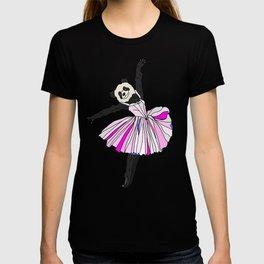 Panda Bear Ballerina Tutu T-shirt