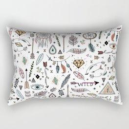 Boho Rectangular Pillow