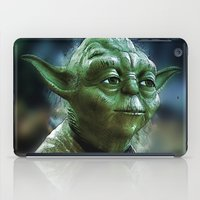 yoda iPad Cases featuring Yoda by Robin Curtiss