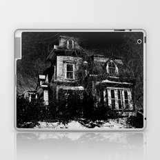 The local creepy house Laptop & iPad Skin
