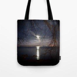 Spooky moon Tote Bag