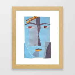 David Starman #PrideMonth Collage Portrait Framed Art Print