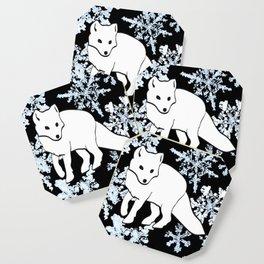 Foxes & Flakes Coaster