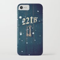 221b iPhone & iPod Cases featuring Victorian 221B by MarinaArt