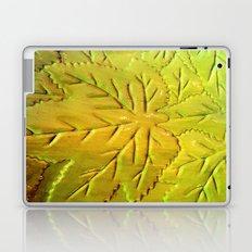 Green Gloss Leafs Laptop & iPad Skin