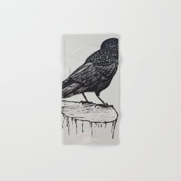 Observant Crow Hand & Bath Towel
