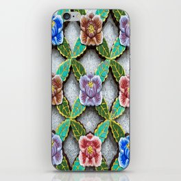 Haedong Yonggungsa Temple Door Carving II iPhone Skin