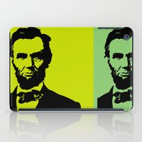 lincoln iPad Cases featuring Lincoln by Liam Schultz