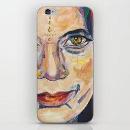 Fille Du Feu iPhone Skin