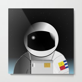 We're floating out in space... Metal Print
