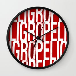 Peligro! Wall Clock