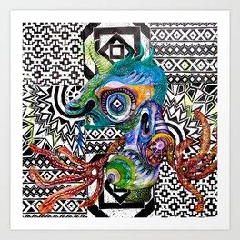 Ymir Art Print