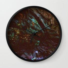 Forest Wall Dark Fairy Landscape Wall Clock