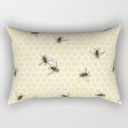 Honey a Bee Farm! Rectangular Pillow