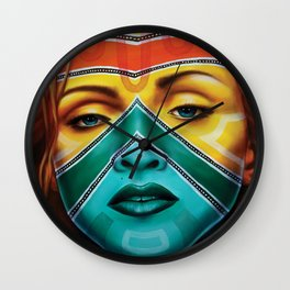 Samnation14-03, Inspired by Madonna Wall Clock