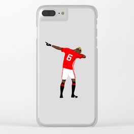 POGBA Style Clear iPhone Case