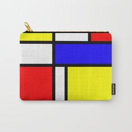 Mondrian 4 #art #mondrian #artprint Carry-All Pouch