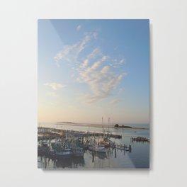 Sunrise Over Biloxi Metal Print