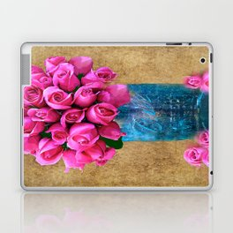BALL MASON JAR AND ROSES Laptop & iPad Skin
