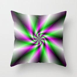 Spark Generator Throw Pillow