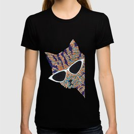 Cool Tabby Cat with Sunglasses T-shirt