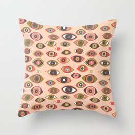 Pattern Project #16 / Hungry Eyes Throw Pillow