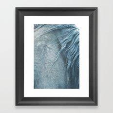 Horse mane - fine art print n°3 Framed Art Print