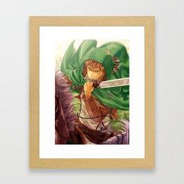 SnK-Jean Framed Art Print