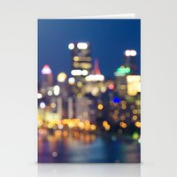 pittsburgh Stationery Cards featuring Pittsburgh by Cody Rayn