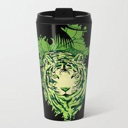 TigerCamou Metal Travel Mug