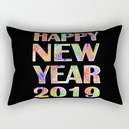 Happy New Year 2019 New Year's Eve Party Gift Rectangular Pillow