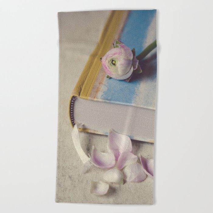 The Book Of Love II Beach Towel