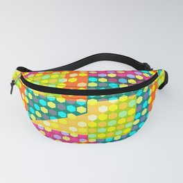 Colorful hexagons Fanny Pack
