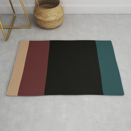 Contemporary Color Block XII Rug
