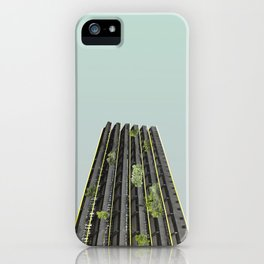 LND CLR X-3 London Colour Architecture Art iPhone Case