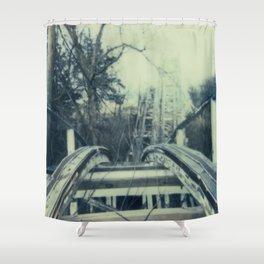 Abandoned Amusement Park 03 Shower Curtain