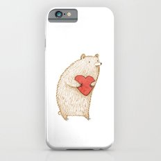 Bear with Heart Slim Case iPhone 6s
