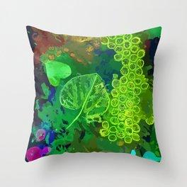 Leaf Impressions Throw Pillow