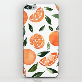 Summer oranges iPhone Skin