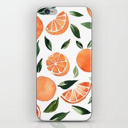 Summer oranges iPhone Skin