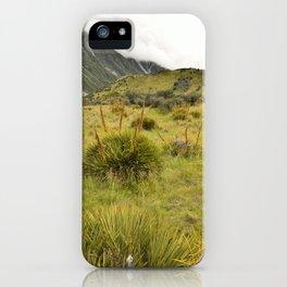 Grassy Landscape iPhone Case
