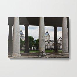 Royal Naval College Metal Print